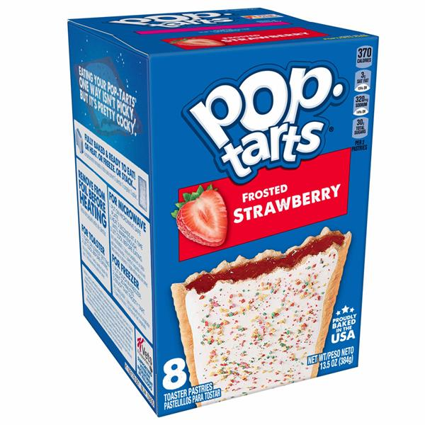 Kellogg's Pop-Tarts Frosted Strawberry 8Ct