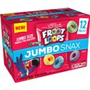 Kellogg's Cereal Snacking Froot Loops 12-0.45 oz Pouches