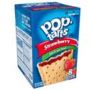 Kellogg's Pop-Tarts Unfrosted Strawberry Toaster Pastries 8Ct