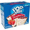 Kellogg&#39s Pop-Tarts Frosted Strawberry Toaster Pastries 12Ct