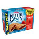 Kellogg's Nutri Grain Soft Baked Strawberry Breakfast Bars Value Pack 16-1.3 oz Bars