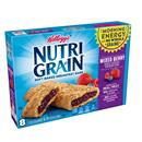 Kellogg's Nutri Grain Mixed Berry Breakfast Bars 8-1.3 oz Bars