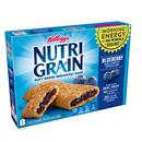 Kelloggs Nutri Grain Blueberry Cereal Bars 8-1.3 oz Bars