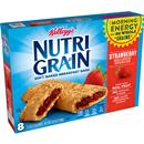 Kellogg's Nutri Grain Strawberry Cereal Bars 8-1.3 oz Bars