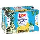 Dole 100% Pineapple Juice 6Pk
