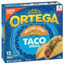 Ortega Yellow Corn Taco Shells 12Ct