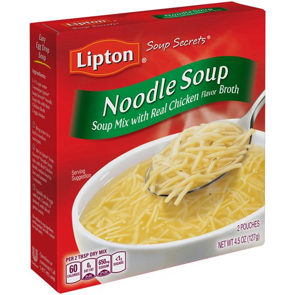 Lipton Soup Secrets Noodle Soup Mix With Real Chicken