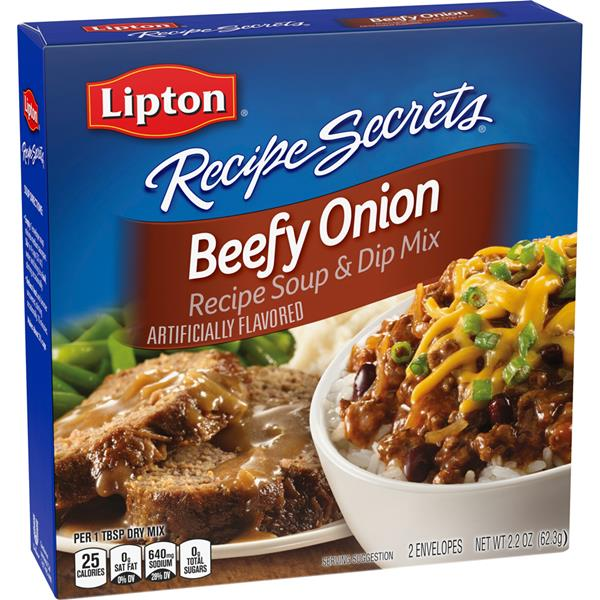 Lipton Recipe Secrets Beefy Onion Recipe Soup & Dip Mix 2Ct