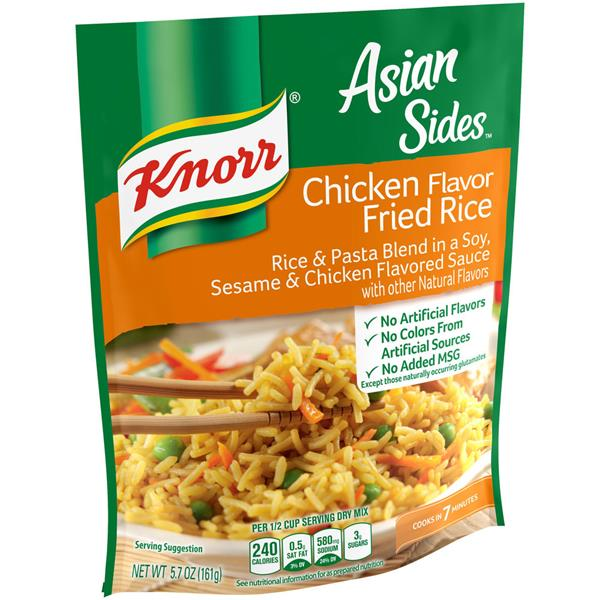 Knorr Asian Sides Chicken Flavor Fried Rice Hy Vee