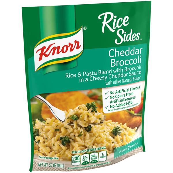 Knorr Rice Sides Cheddar Broccoli Hy Vee Aisles Online