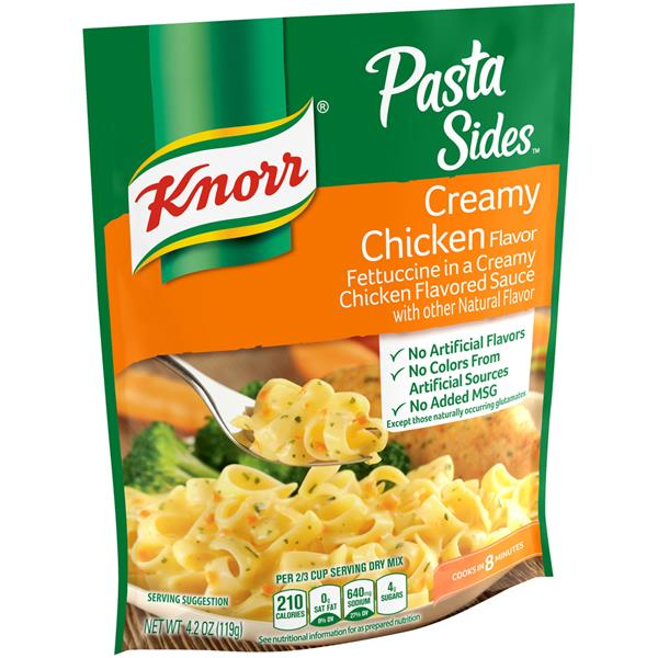 Knorr Pasta Sides Creamy Chicken Fettuccini Hy Vee