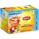 Lipton Iced Tea Sweet Tea K-Cups, 10-0.58 oz ea.