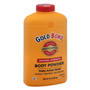 Gold Bond Body Powder, Original Strength, Triple Action Relief