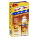 Aspercreme Max Strength with 4% Lidocaine Infused with Bergamot Orange Essential Oil