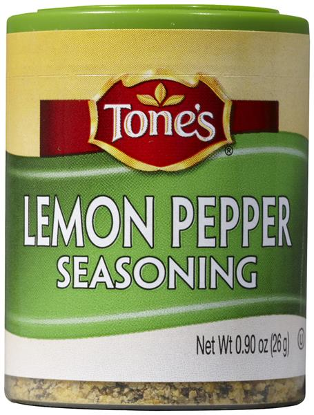 Tone's Lemon Pepper Seasoning Blend