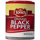 Tone's Ground Black Pepper