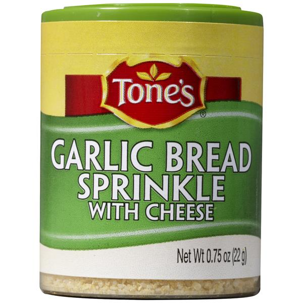 Tone's Garlic Bread Sprinkle with Cheese Seasoning Blend