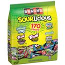 BRACH'S SourLicious Lemonhead, Trolli, Super Bubble, Now and Later & SweeTarts Candy Variety Pack 170 Ct