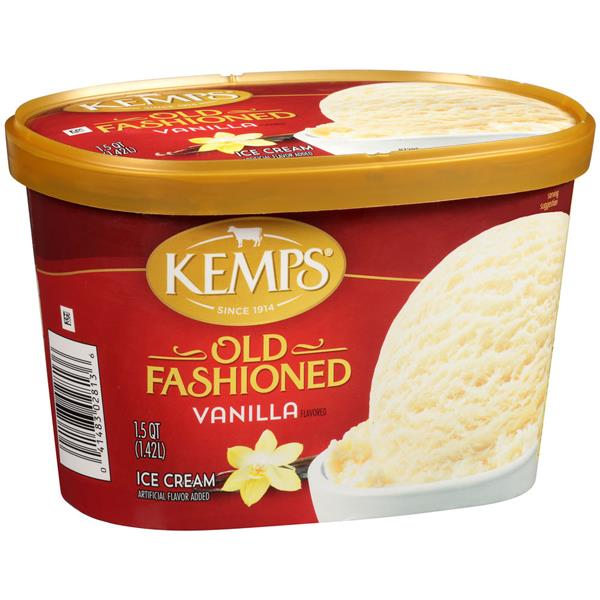 Kemps Old Fashioned Vanilla Ice Cream
