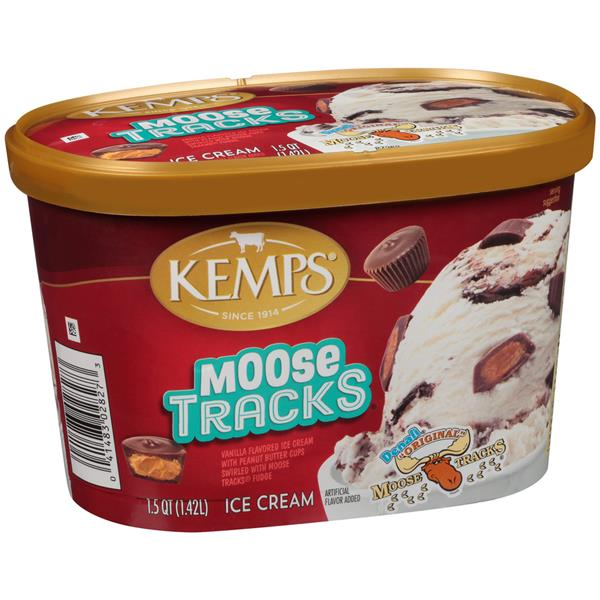 Kemps Denali Original Moose Tracks Ice Cream