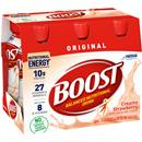 Boost Original Creamy Strawberry Complete Nutrition Drink 6Pk