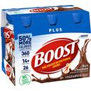 Boost Plus Rich Chocolate Complete Nutrition Drink 6Pk