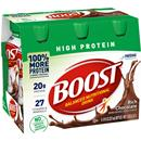 Boost High Protein Rich Chocolate Complete Nutritional Drink 6Pk