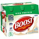 Boost High Protein Very Vanilla Complete Nutritional Drink 6Pk