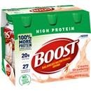 Boost High Protein Strawberry Bliss Complete Nutritional Drink 6Pk
