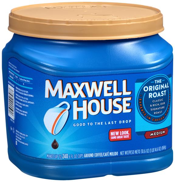 Maxwell House Original Roast Ground Coffee | Hy Vee Aisles Online Grocery  Shopping