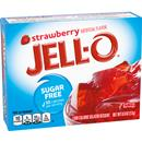 Jell-O Sugar Free Strawberry Low Calorie Gelatin Dessert