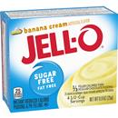 Jell-O Sugar Free Fat Free Banana Cream Instant Reduced Calorie Pudding & Pie Filling