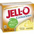 Jell-O Banana Cream Cook & Serve Pudding & Pie Filling Mix 3 oz. Box