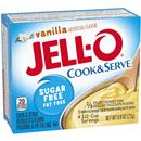 Jell-O Vanilla Sugar Free Fat Free Cook & Serve Reduced Calorie Pudding & Pie Filling