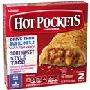 Hot Pockets Frozen Sandwiches Beef Taco 2Pk