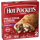 Hot Pockets Frozen Sandwiches Philly Steak & Cheese 2Pk
