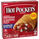 Hot Pockets Frozen Sandwiches Pepperoni & Sausage Pizza 2Pk