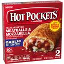 Hot Pockets Frozen Sandwiches Meatballs & Mozzarella 2Pk