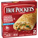 HOT POCKETS Frozen Sandwiches Chicken, Broccoli & Cheddar 2 Pk