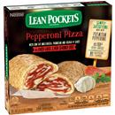 Lean Pockets Frozen Sandwiches Reduced Fat Pepperoni Pizza 2Pk