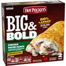 Hot Pockets Big & Bold Chicken Bacon Ranch Frozen Sandwich 2 Ct Pack