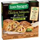 Lean Pockets Frozen Sandwiches Chicken Jalapeno And Cheese