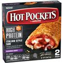 Hot Pockets High Protein Italian Style Sub Frozen Sandwiches 2Ct