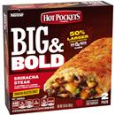 Hot Pockets Big & Bold Sriracha Steak Frozen Sandwich 2Pk