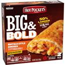 Hot Pockets Big & Bold Buffalo Style Chicken Frozen Sandwich 2Ct