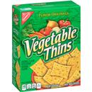 Nabisco Flavor Originals Vegetable Thins Baked Snack Crackers