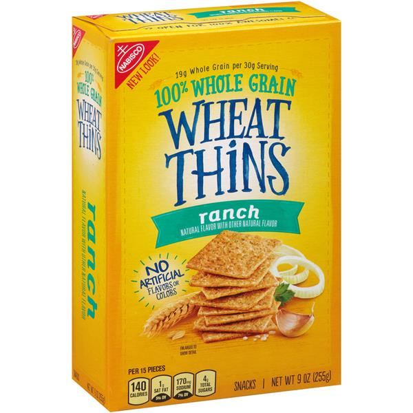 Nabisco Wheat Thins Ranch | Hy-Vee Aisles Online Grocery