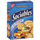 Nabisco Flavor Originals Sociables Baked Savory Crackers