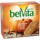 belVita Limited Edition Pumpkin Spice Breakfast Biscuits 5-1.76 oz