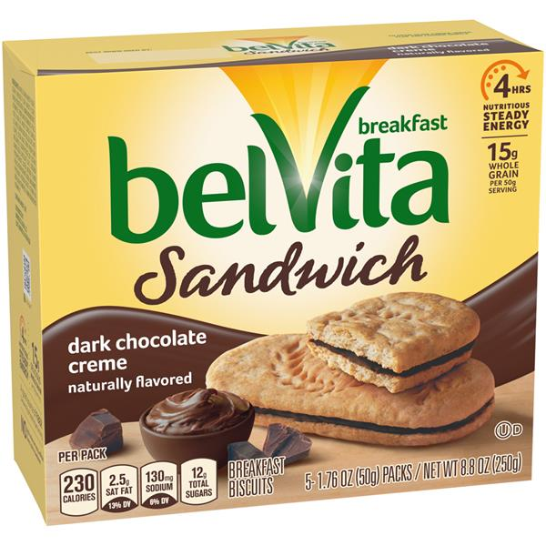 Belvita Breakfast Biscuits Chocolate Nutrition